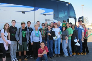 St. Patrick's Day Bus